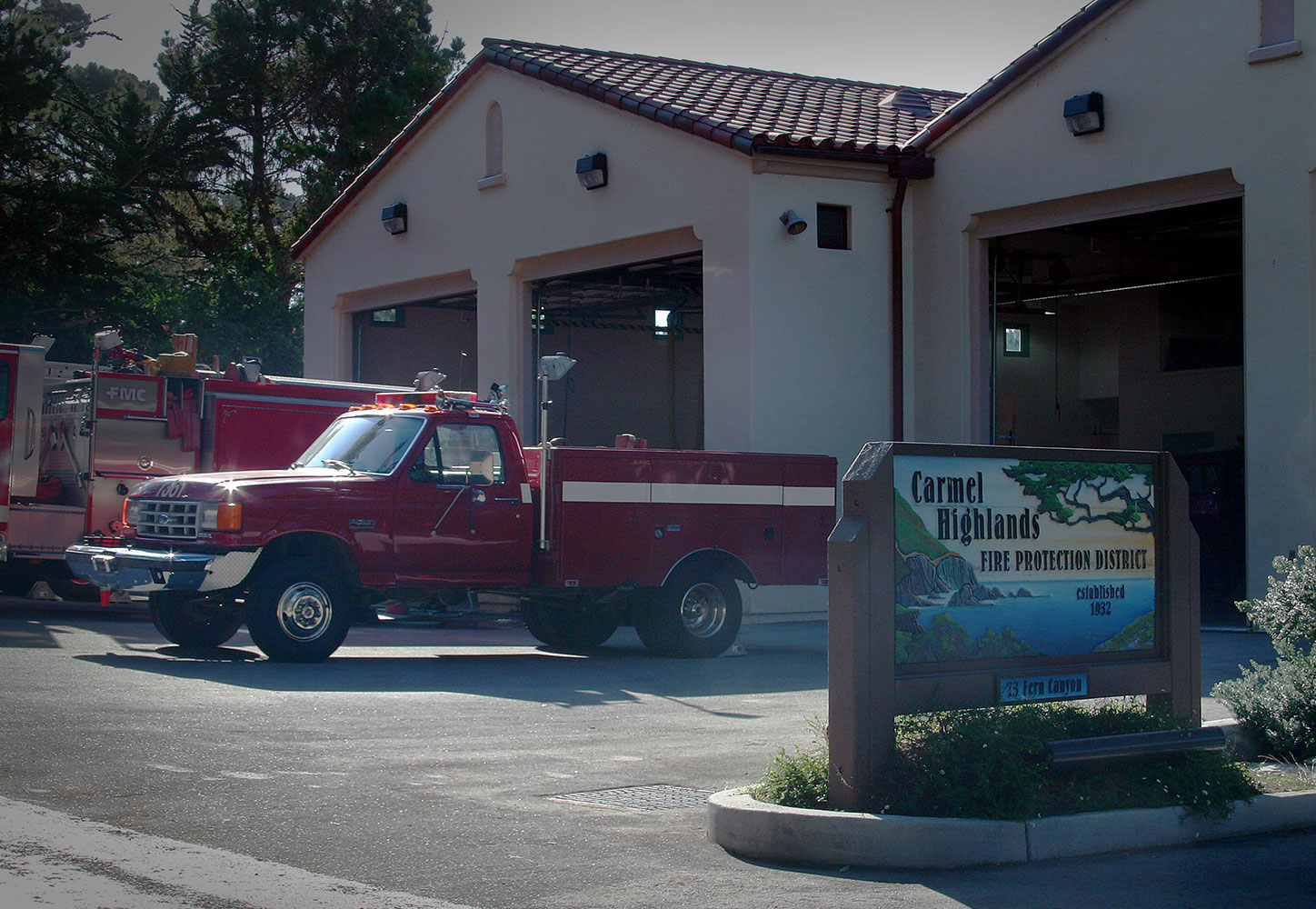 Carmel Highlands Fire Station